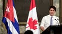 Le Premier ministre canadien Justin Trudeau à Cuba en 2016. (Photo d'illustration)