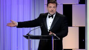 Russell Crowe en octobre 2016