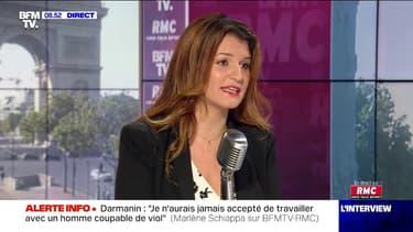 """Marlène Schiappa """"se réjouit"""" du nouveau gouvernement avec """"davantage de femmes que d'hommes"""""""