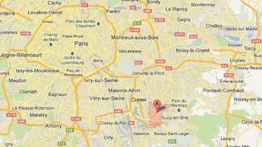 Deux individus sont retranchés mardi dans un immeuble de Bonneuil-sur-Marne après avoir commis un braquage.