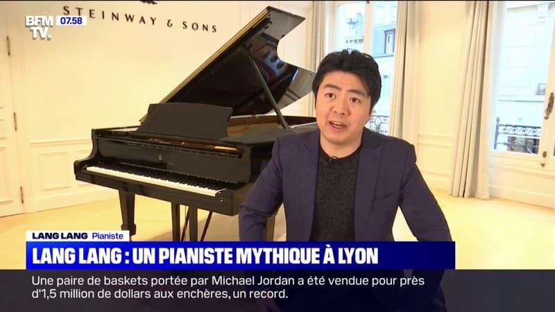 Regarder la vidéo Le mythique pianiste Lang Lang donne une représentation ce lundi soir à Lyon
