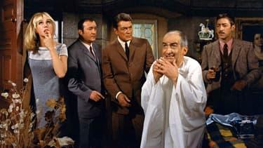 """""""Fantomas contre Scotland Yard"""", sorti en 1967, a été diffusé 15 fois à la télévision."""