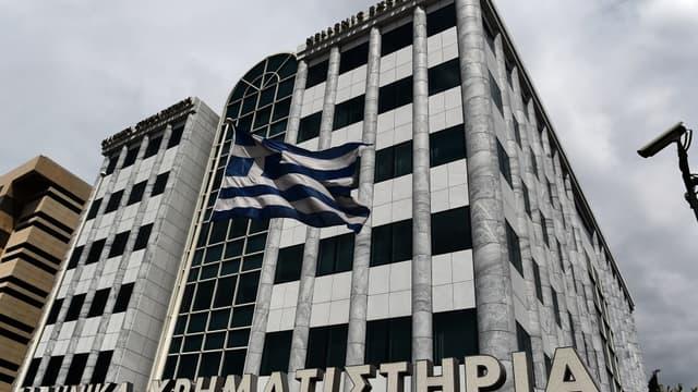 La Bourse d'Athènes a plongé de 9,2% après les premières déclarations du nouveau gouvernement.
