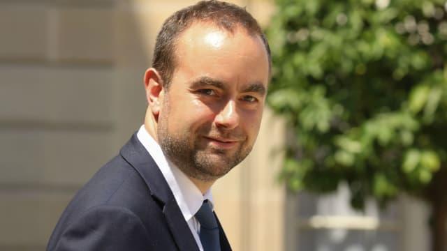Sébastien Lecornu, secrétaire d'Etat à la Transition écologique