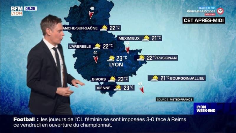 Météo à Lyon: du soleil et quelques nuages ce samedi