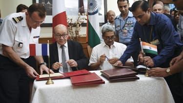 Au bout de cinq ans de négociations, l'Inde et la France ont scellé leur accord sur la vente de 36 Rafale.