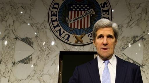 Le sénateur démocrate John Kerry.