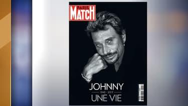 """La une de """"Paris Match"""" après la mort de Johnny Hallyday"""