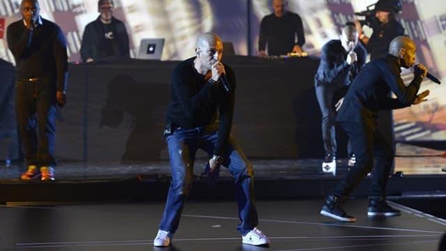 Le groupe IAM, sur la scène des Victoires de la musique en février 2015