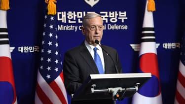 James Mattis à Séoul, le 28 octobre 2017.