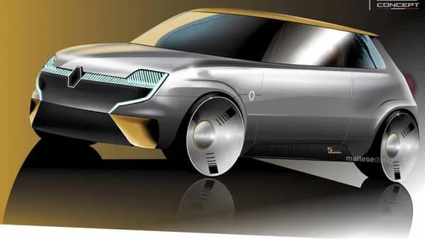 En 2020, un designer italien avait imaginé l'avenir électrifié de la R5