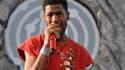 Le rappeur Kid Cudi, en concert à Coachella, en avril 2014.
