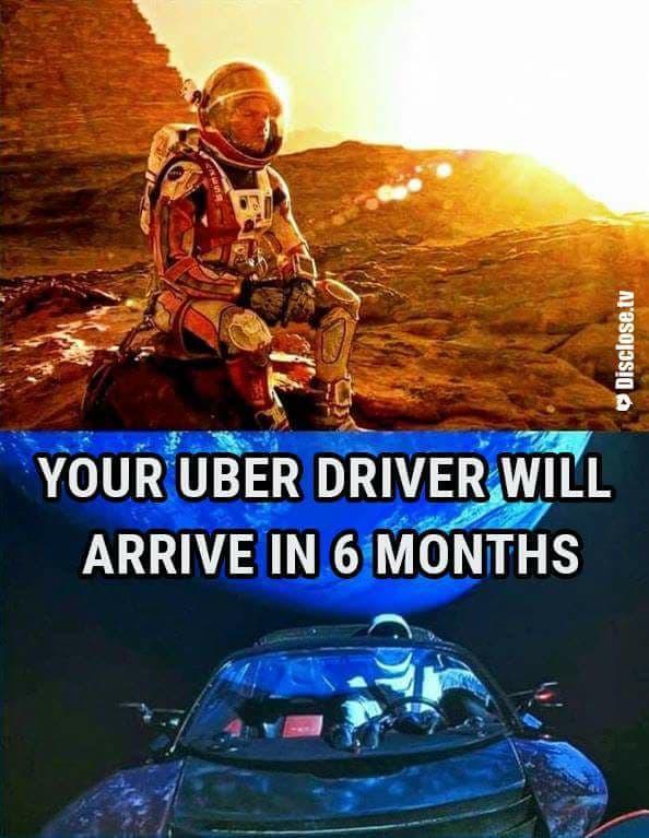 """""""Votre chauffeur Uber arrivera dans 6 mois"""""""