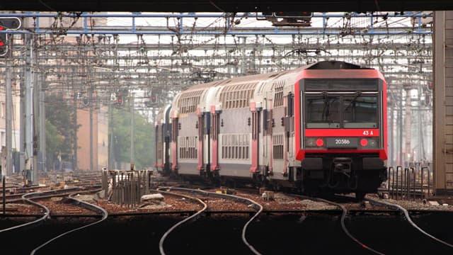Dans la nuit du 4 au 5 février une étudiante a été violée dans le train qui l'amenait à Melun (illustration).