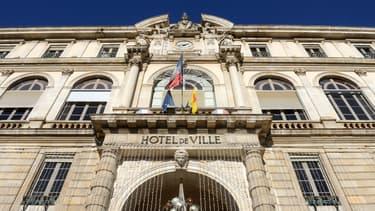 Hôtel de ville de Pau (illustration)