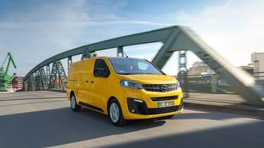 Le nouvel Opel Vivaro disposera d'une version à pile à combustible à hydrogène équipé également d'une petite batterie rechargeable.