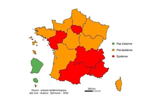 La grippe continue de progresser, 5 régions concernées par l'épidémie