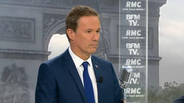 Nicolas Dupont-Aignan vendredi matin sur BFMTV et RMC