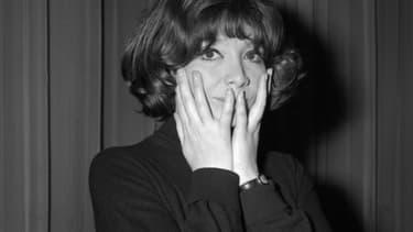 Juliette Gréco pose lors des répétitions, le 09 septembre 1964, à Bobino à Paris