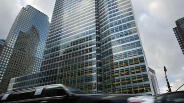 Le QG de Goldman Sachs à Manhattan