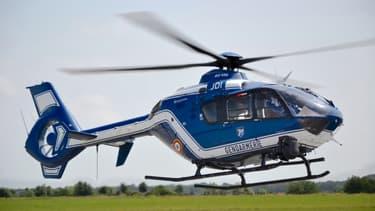 Un hélicoptère de la gendarmerie. (Photo d'illustration)