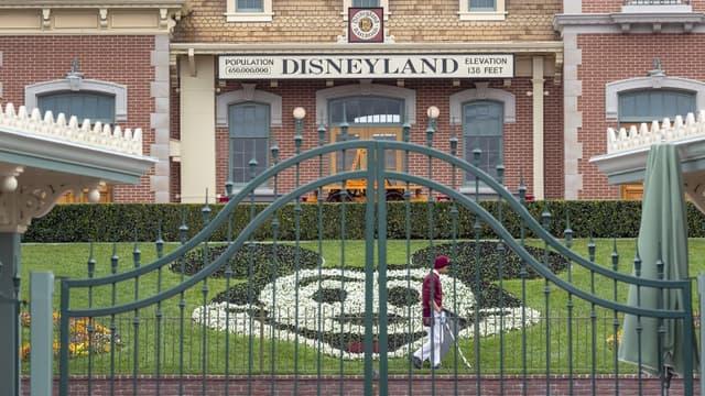 Le parc Disneyland à Anaheim, en Californie