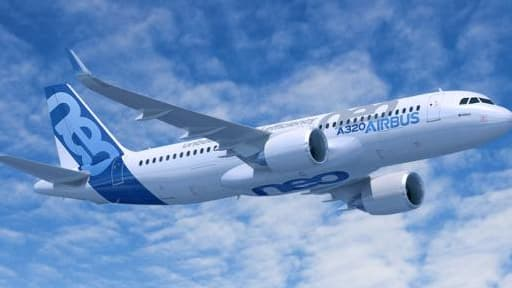 L'A320 neo d'Airbus.