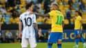 Lionel Messi et Neymar en finale de Copa America
