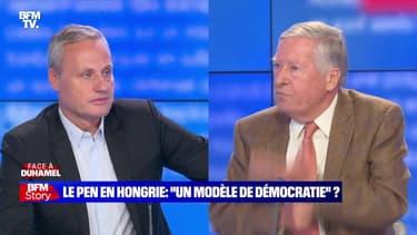 """Face à Duhamel: Le Pen en Hongrie, """"un modèle de démocratie"""" ? - 26/10"""