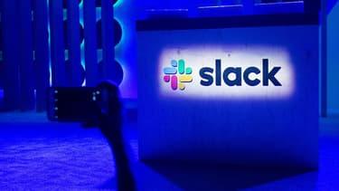 Logo de la messagerie Slack