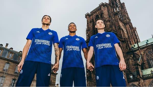 Le maillot hommage de Strasbourg