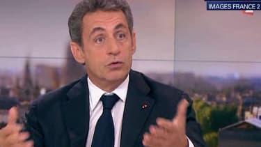 Nicolas Sarkozy était l'invité du journal de 20 heures de France 2 le 31 mai 2015.