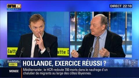 Eric Brunet face à Roland Cayrol: Bilan des trois ans de François Hollande à l'Elysée