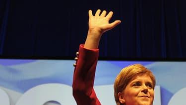Nicola Sturgeon ce samedi à Glasgow