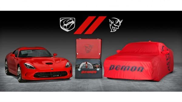 La dernière Demon sera vendue en même temps que la dernière Dodge Viper.