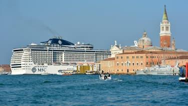 Un paquebot à Venise, en 2014. (photo d'illustration)