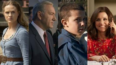 """Westworld"", ""House of Cards"", ""Stranger Things"" et ""Veep"" figurent parmi les grandes favorites"