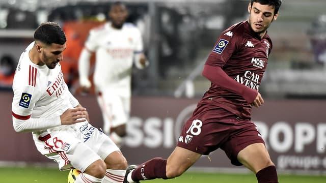 Aouar face au FC Metz