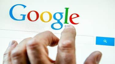Recherche Google. (Illustration)