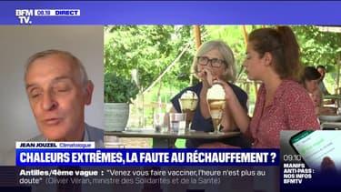 """Pour Jean Jouzel, climatologue, """"il n'y a pas de différence entre ce qu'il se passe aujourd'hui et la canicule de 2003"""""""