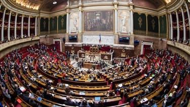 Illustration - l'hémicycle de l'Assemblée nationale
