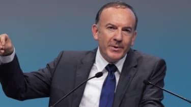 Pierre Gattaz, président du Medef, ne voit pas de reprise économique dans l'immédiat.