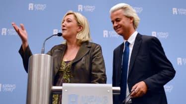 Marine Le Pen et Geert Wilders