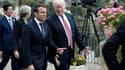 Emmanuel Macron et Donald Trump lors du sommet du G7 à Taormina, en Sicile, le 26 mai 2017.
