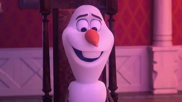 "Olaf, dans ""La reine des neiges"""