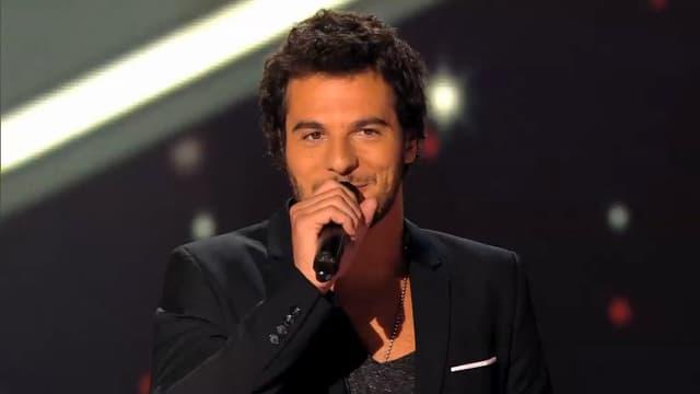 Amir Haddad sur le plateau de The Voice