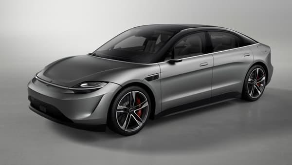 Une silhouette de véhicule moderne mais plutôt classique pour cette Vision S.