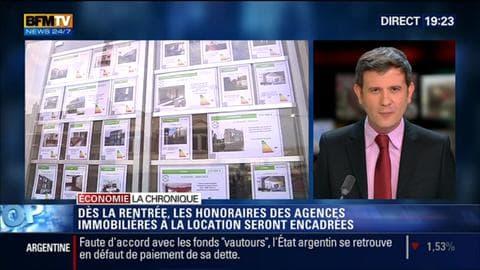 L'Éco du soir: Locations immobilières: les honoraires des agences vont être encadrés dès la rentrée - 31/07