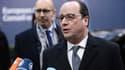 François Hollande est à Bruxelles.
