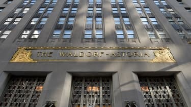 Le Waldorf Astoria ferme ses portes.